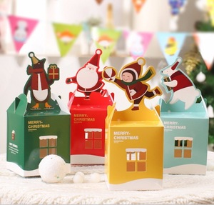 Christmas paper candy box cookie box packaging for kids