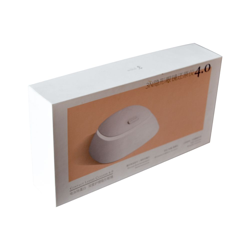 Flat Rigid Paper Packaging Box with Paper Inner Tray China Manufacturer