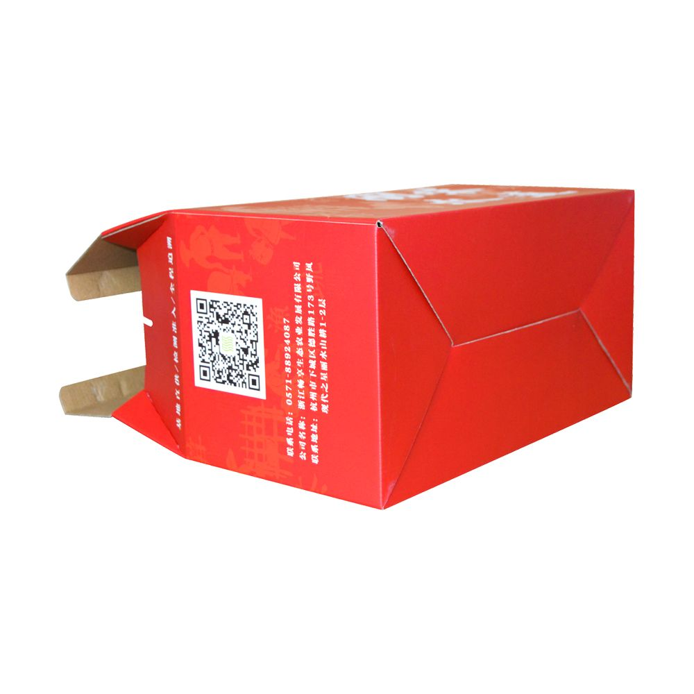 Spot UV Strong Gable Corruaged paper Food Packaging Boxes