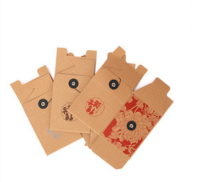 Foldable Kraft Paper Packaging Boxes Manufacturer For Nuts Tea Wholesale