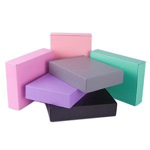 Colorful Kraft Folding Mailer Box for Apparel Shipping