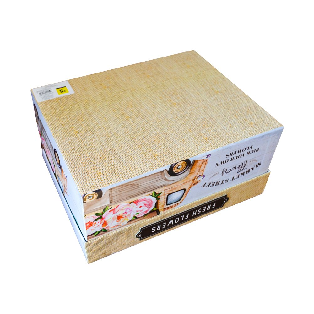 Clamshell Different Size Paper Flowers Packaging Gift Boxes with Magnet