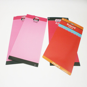 Custom Luxury Large Paper Gift Tags Products Hang Tag China Supplier