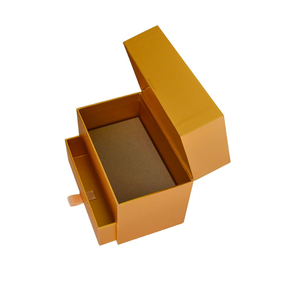 Special Shaped Cosmetics Rigid Two Layer Clamshell Drawer Packaging Boxes