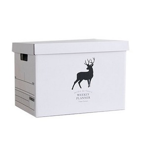 White Corrugated Mailing Cardboard Carton Shipping Boxes with Lid