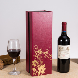 Single Wine Bottle Mailer Box Protective Packaging Wholesale