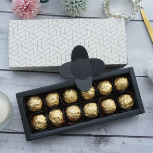 Wholesale Paper Box Gift Packaging For Chocolate