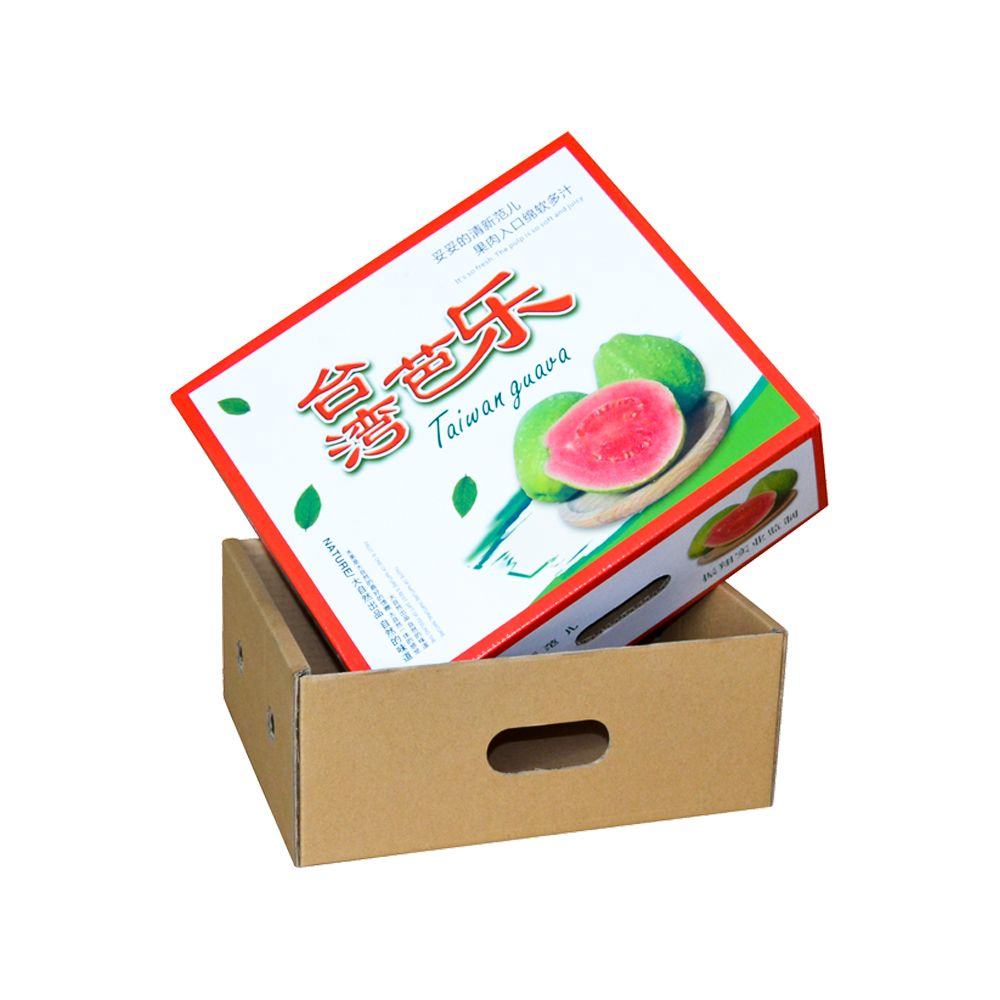 China Professional Corrugated Paper Fruits Packaging Boxes Manufacturer