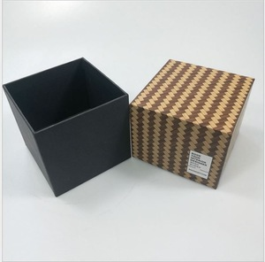 Wholesale Custom Print Rigid Luxury Candle Gift Box for Packaging Manufacturer