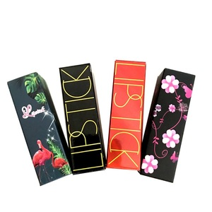 Customized Gold Stamping Liquid Lipstick Packaging Gift Box Manufacturer