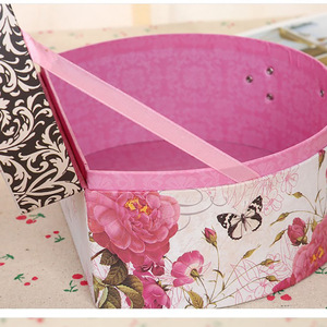 Custom Color Paper Packaging Box Suitcase Manufacturer