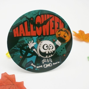 Custom Led Flashing Giant Badge Pin with Stand for Halloween China Supplier