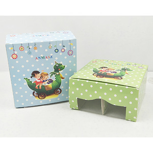 Custom Size Cheap Price Cute Clear Window Baby Shoes Packaging Paper Boxes Suppliers