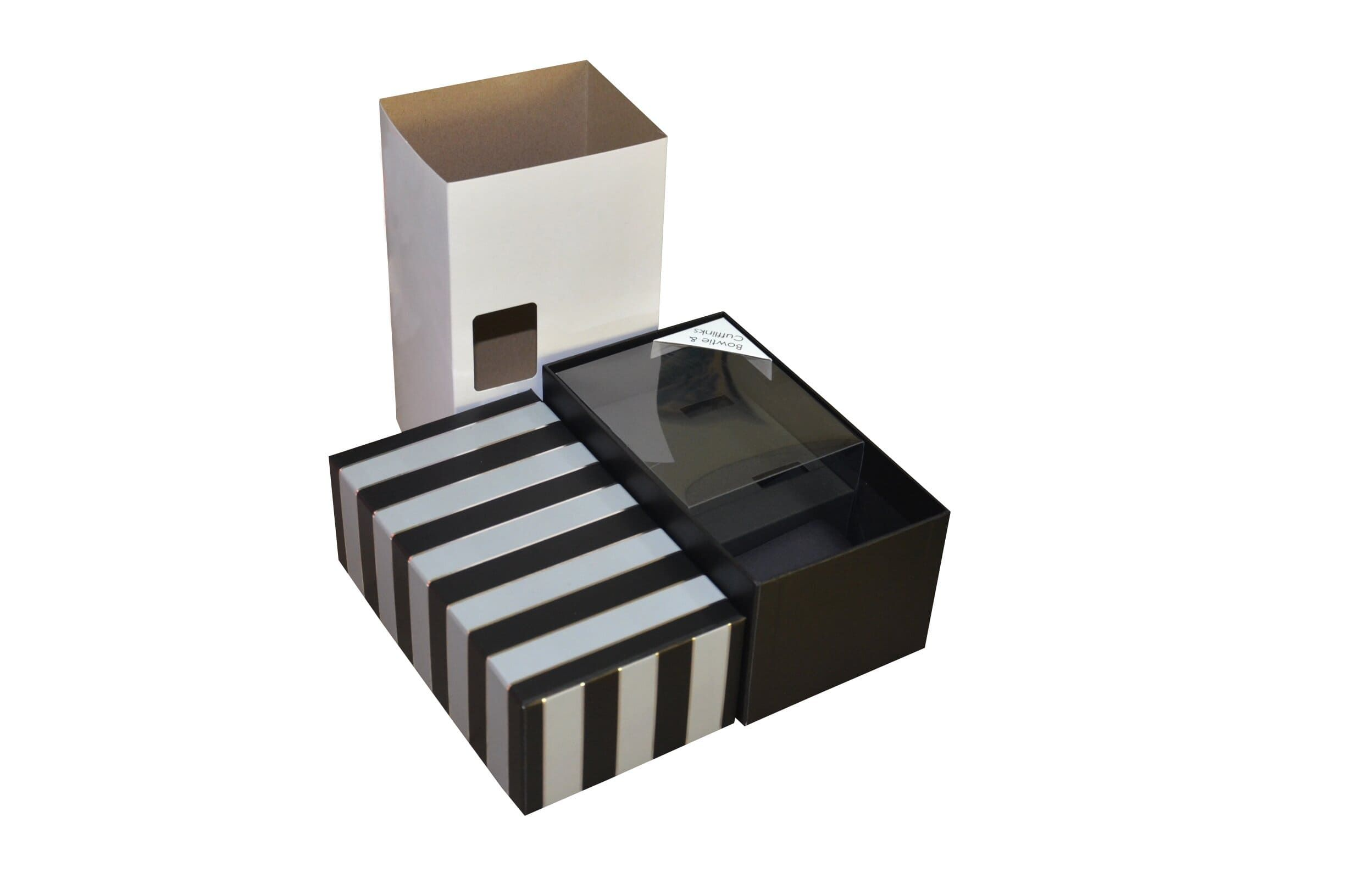 Collapsible Rigid Box for Packaging