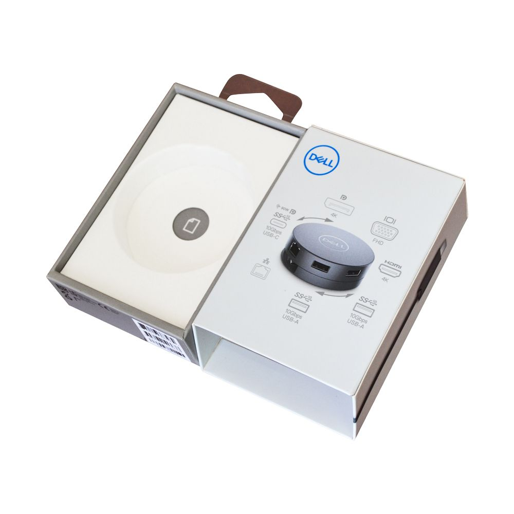 Outside and Inside Dual Rigid Paper Packaging box with Airhook