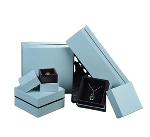 Multi Size Option Necklace Cardboard Rigid Jewelry Packaging Boxes Supplier