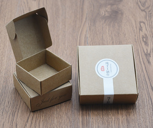 Luxury Travel Natral Kraft Paper Soap Packaging Boxes China Manufacturer