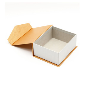 Luxury Rigid Paper Packaging Book Boxes With Magnet China Supplier