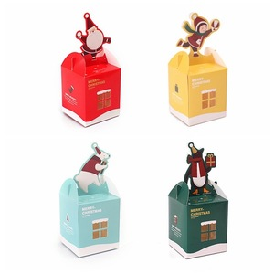 Wholesale Christmas Paper Candy Box Cookie Box Packaging for Kids