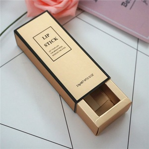 Rigid Sliding Lipstick Drawer Packaging Gift Boxes China Supplier