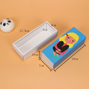 Wholesale Folding Art Paper 6 Macarons Candy Kid Gift Transparent Acrylic Box Packaging For Chocolate Houses
