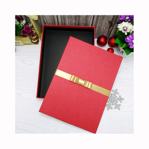 Luxury Rectangle Paper Rigid Packaging Gift Box for Apparel