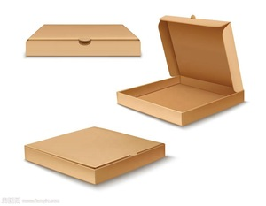 10 11 12  13 inch Rigid Cardboard Food Carrier Pizza Box China Manufacturer