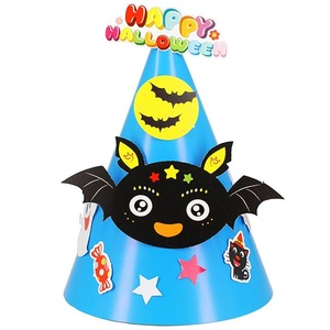 Custom Printing Funny Design Children Party Cone Paper Hats for Birthday for Halloween China Manufacturer