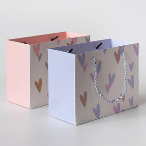 Portable Printing Kraft Paper Shopping Bag with Rope Handle Manufacturer