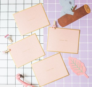 Wholesale Simple Fashion Greeting Paper Card Manufacturers