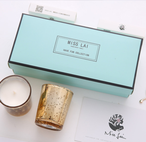 Wholesale Good Price Luxury Gift Paper Packaging Cardboard With Inserts Candle Box For Candle