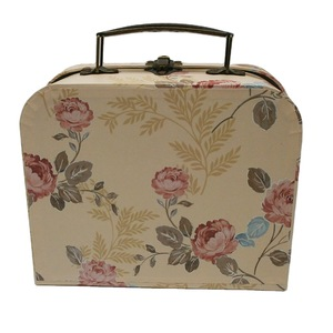 Lovely Style Handmade Suitcase Custom Printing Christmas Kids Gifts Packing Paper Suitcase