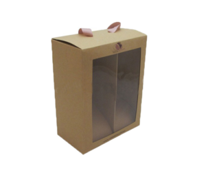 Manufacturers Clear Window Convenient Portable Packaging Paper Baby Shoebox