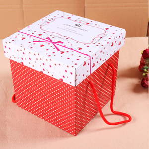 Custom Printed E-flute Corrugated Paper Box for Food Packaging