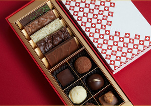 Rectangle Red Rigid Cardboard Paper Wedding Favor Inserts Gifts Candy Bar Sweets Bonbon Chocolate Packaging Box Luxury Gift