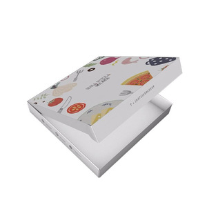 Manufacturers Customized Food Grade Collapsible Kraft Pizza Box Wholesale
