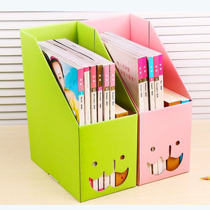 China Manufacturer Customized Decorative Corrugated Paperboardrd Bookcases
