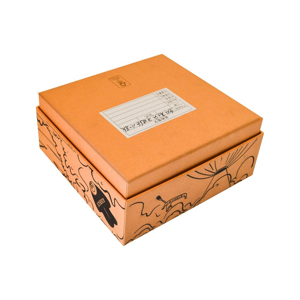Lid and Tray Cardboard Rigid Makeup Boxes Wholesale