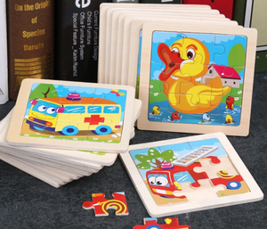 Children Jigsaw Puzzle for Educational Tintelligence Toys Cartoon Animal Board Game 500 1000 Pieces Supplier