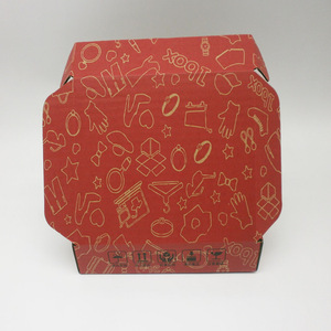 B flute corrugated paper packing boxes folding paper box