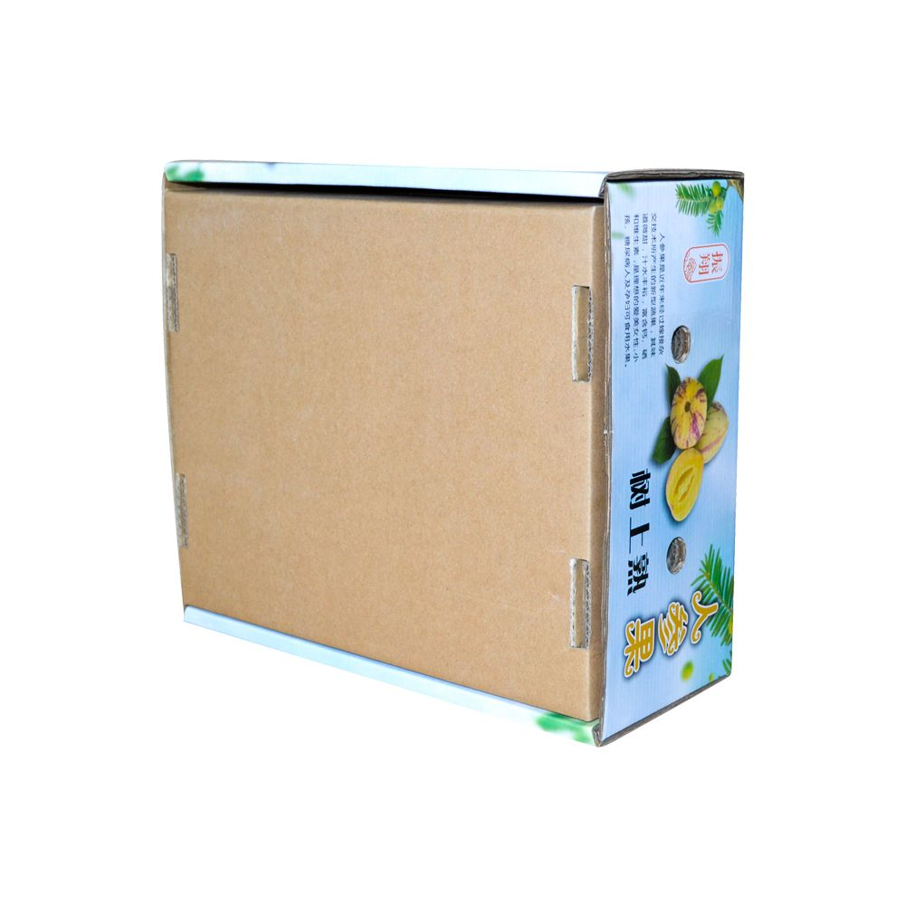 Corrugated Fruits Paper Packaging Boxes Professional Manufacturer