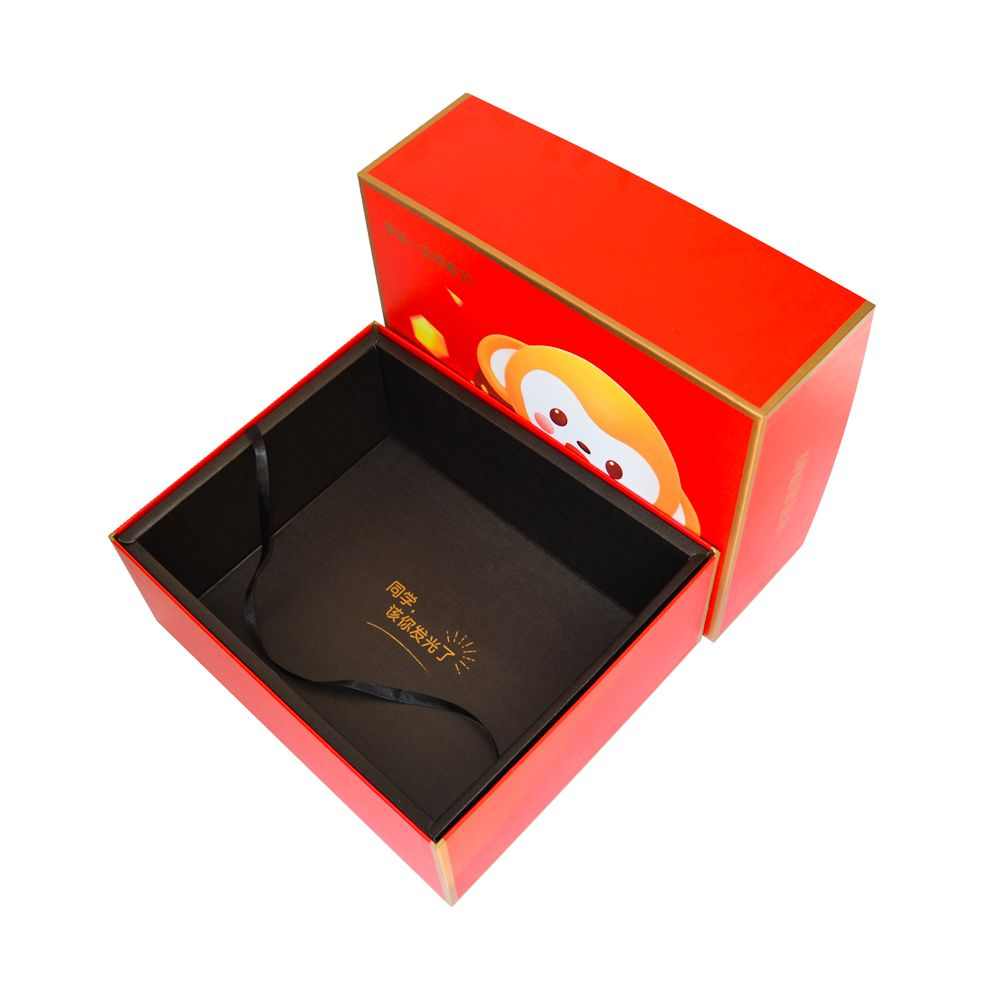Lid and Tray Rigid Paper Packaging Box for Cosmetic