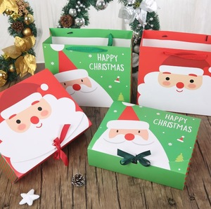 Manufacture accept Christmas of Santa box with bright-coloured printing