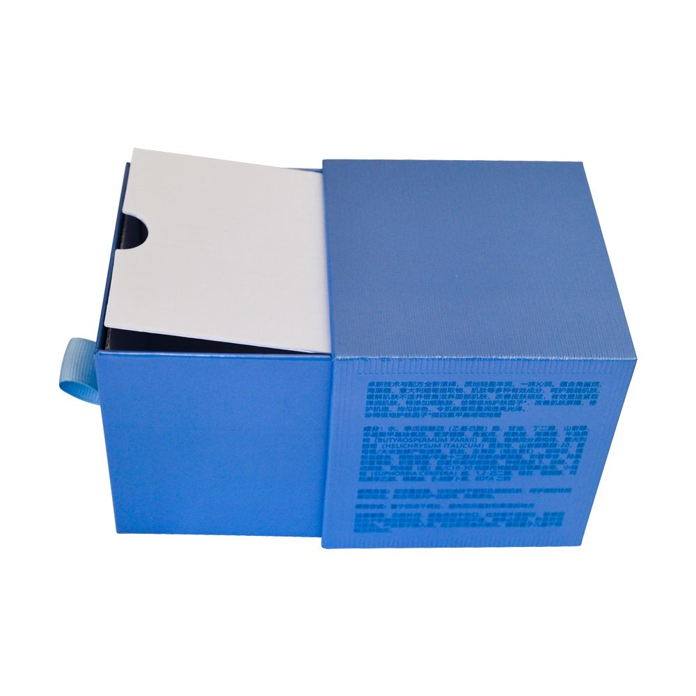 Professional UV Gold Stamping Lamination Drawer Cosmetic Packaging Boxes Manufacturer