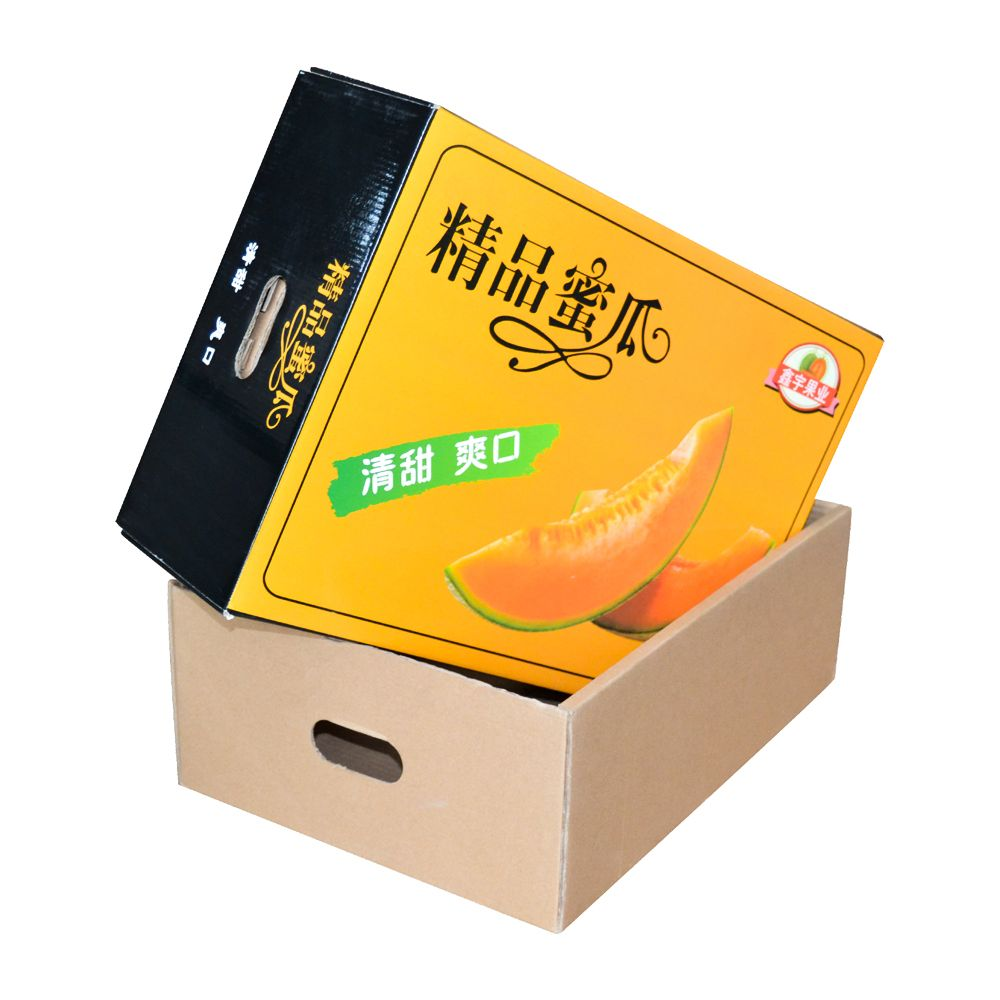 Wholesale Corrugated Paper Fruits Packaging Boxes with Lid