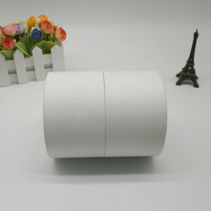 High end custom logo white cylinder round cardboard candle gift box packaging luxury with eva insert