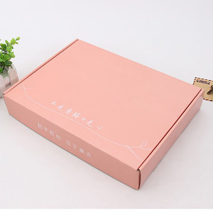 Custom printing e flute corrugated mailing box packaging for shipping for moving wholesale