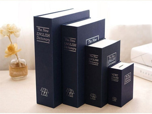 Custom creative gift money storage false book shape box
