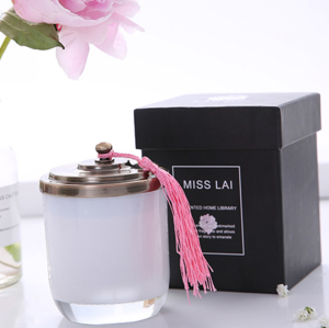 New Luxury Unique Candle Square Boxes Cylinder Box inside Paper Packaging Gift China Supplier