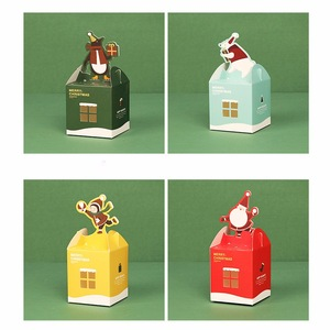 Wholesale christmas gift box candy box display box for Children